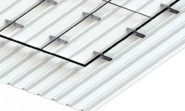 Alumero package for trapezoidal sheet metal, TBB 2.1, length 400mm