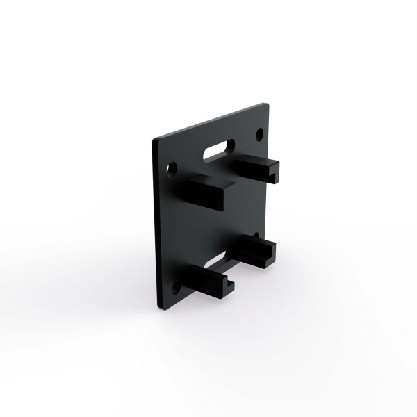 Mounting Systems end cap GS 4/35 sw, 814-0431
