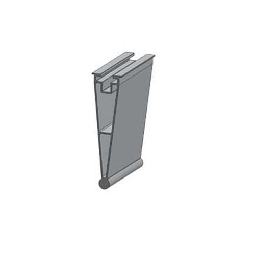 Alumero trapezoidal sheet back part Plus