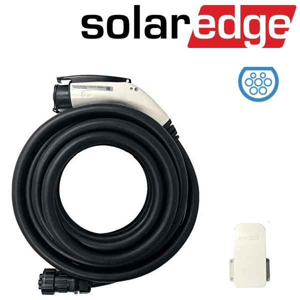 SolarEdge EV charger cable set type II 7.6 m