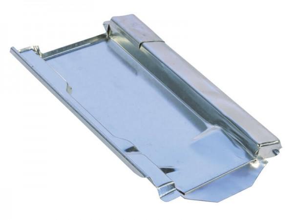 Marzari metal roof plate type Clay 250, black grey