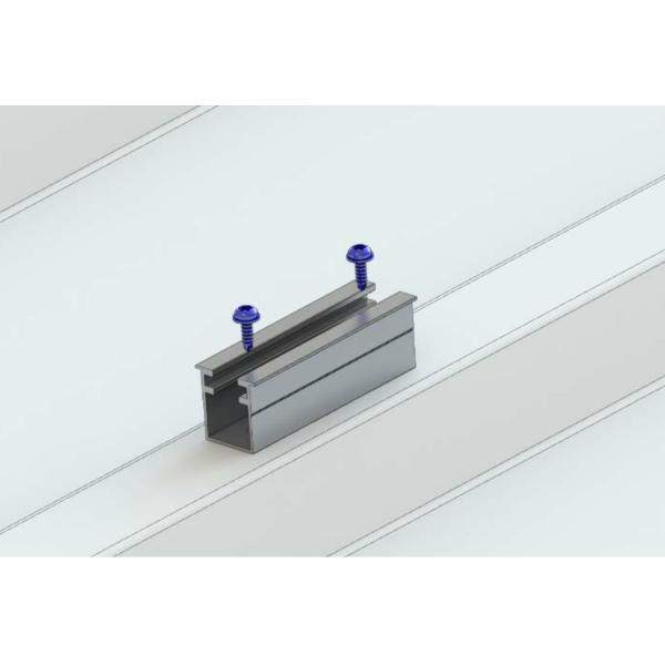 Alumero trapezoidal sheet metal bridge 2.1 T, length 100 mm