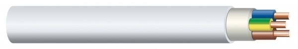 Non-metallic sheathed cable NYM-J 5x4 mm², 50m bundle