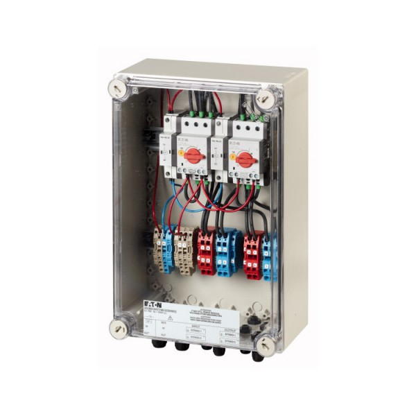 Eaton fire protection switch for 2 MPP, terminals
