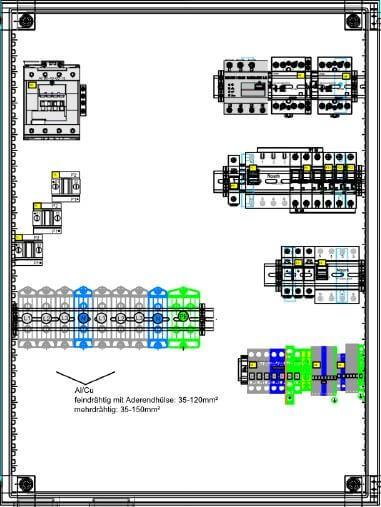 Enwitec switching device SMA 3-phase, 72.5 kW Sunny Island