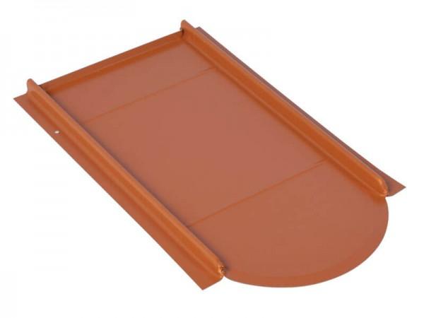 Marzari metal roof plate Vario type for beaver's tail, galvanised