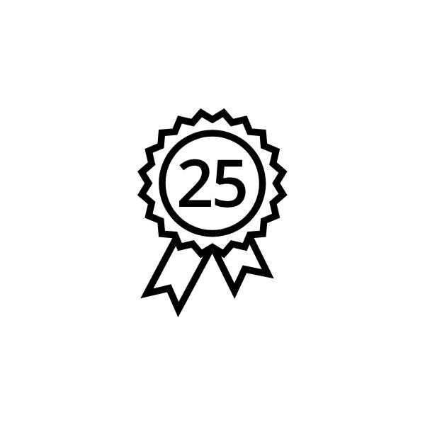 SolarEdge extended warranty 25 years (3~inverter=> 15kW)