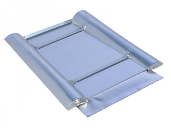 Marzari metal roof plate type Grande 330, black grey