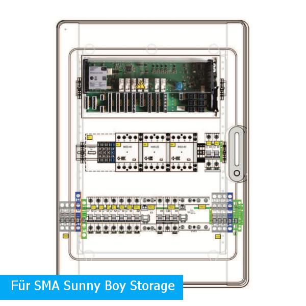 Enwitec switching device SMA 1-phase Sunny Boy Storage