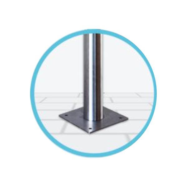 EVBox BusinessLine stand concrete