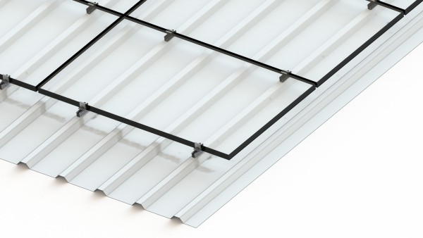Alumero package for trapezoidal sheet metal, TBB 2.1 T, length 100mm