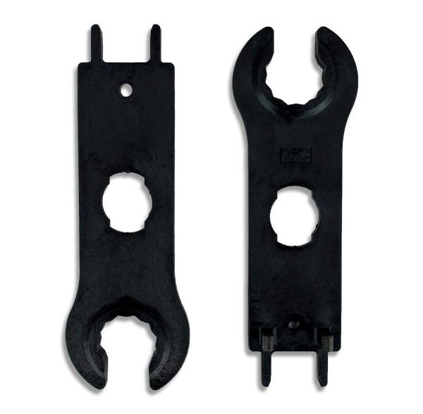 Stäubli MC4 mounting tool / spanner kit, plastic