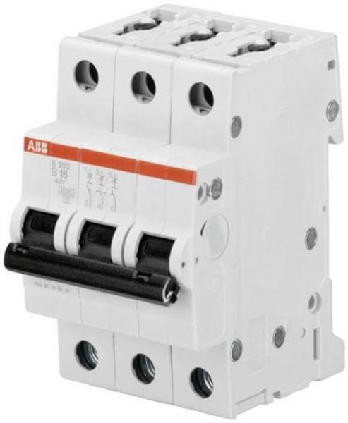 ABB RCCB B16A, 3-pole, 6kA