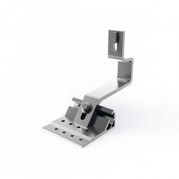 Mounting Systems roof hook aluminium 100-7-45 premounted, 707-0048
