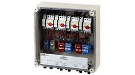 Eaton fire protection switch for 4 MPP, terminals