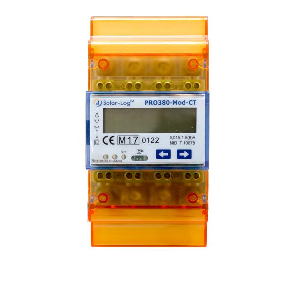 Solar-Log Pro 380 CT for transducer measurement