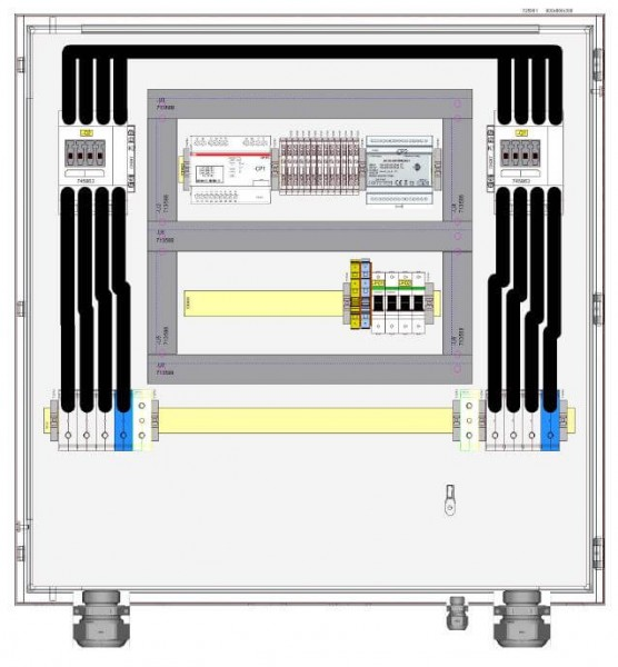 HIS grid and plant protection HNA-077-0-B001 / 77 kVA 110A