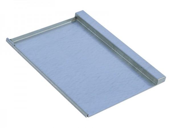 Marzari metal roof plate type TGL 330, black grey