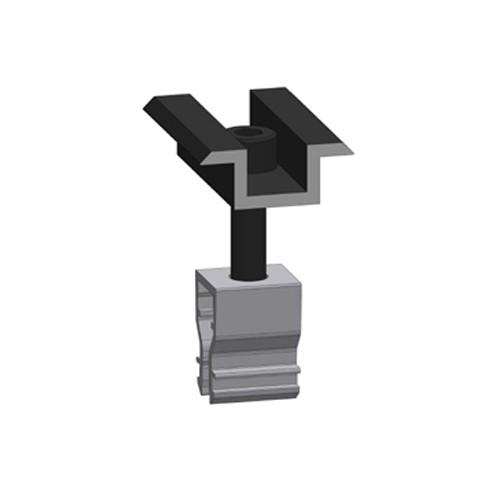 Alumero center clamp 2.1 Click black